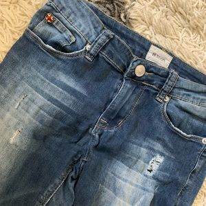 Hudson Jeans girls ripped size 14